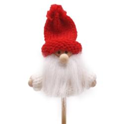 Pick navidad casa,reno palo 50cm