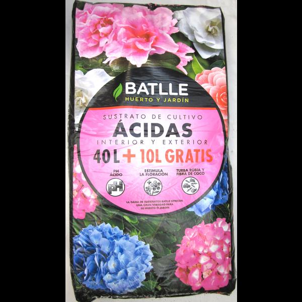 Saco turba acida 40+10lt